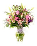 Fototapety Colorful florist-made floral flower arrangement bouquet