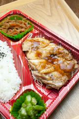鶏の照り焼き弁当