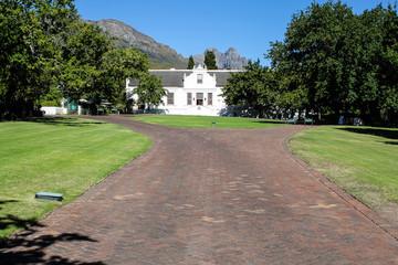 Lanzerac wine estate in Stellenbosch
