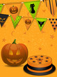 Halloween party background2