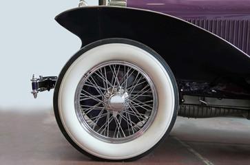 Vintage car tire