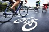 Fototapety Bike lane