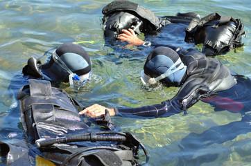 Préparation à la plongée sous-marine