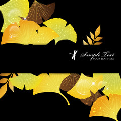 ginkgoes background