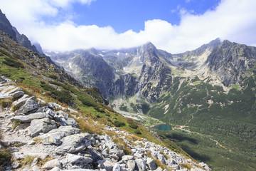 the valley of the Green Tarn, High Tatras
