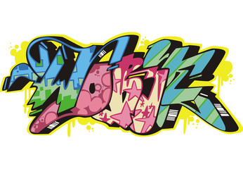 Graffito - work