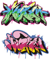 Graffito - worm