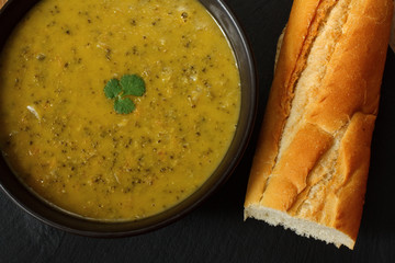 gourmet broccoli and stilton soup