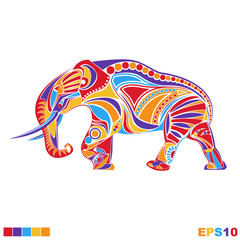 Vector elephant