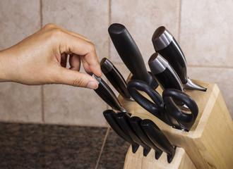 Selecting Knife