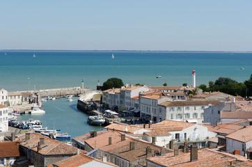 port de Saint-Martin-de-Ré, île de Ré