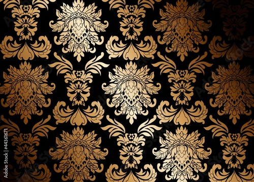 gold wallpaper stockfotos und lizenzfreie vektoren auf. Black Bedroom Furniture Sets. Home Design Ideas