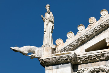Gargoyle at the Cathedral of Pisa