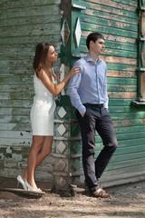 Двое влюблённых выясняют отношения