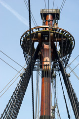 Crow nest from old ship