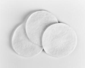 Hygienic cotton disks