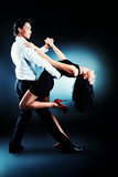 Fototapety latin dancers