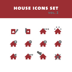 House icons set vol. 2