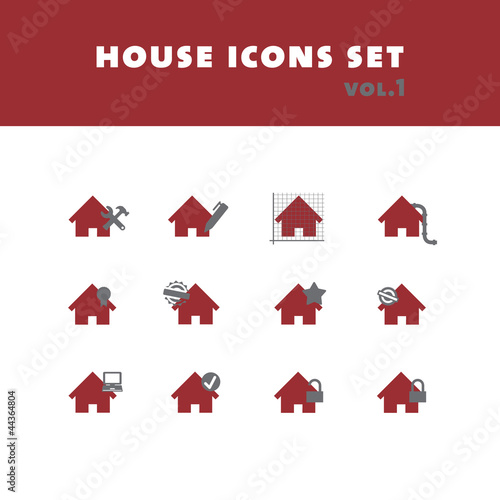 House icons set vol. 1