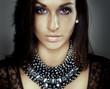 luxury girl portrait