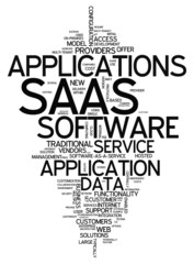 "Word Cloud ""Software As A Service"""