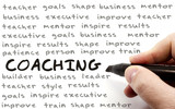 Hand Writing Coaching Concept