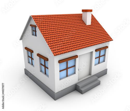 房屋3d内部结构图