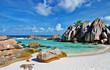 amazing Seychelles with unique franite rocks