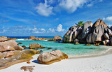 amazing Seychelles with unique franite rocks