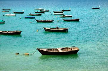 barche sul lago