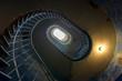 Grunge spiral staircase
