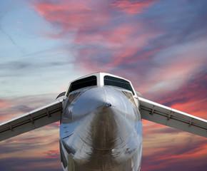The Tupolev Tu-144 (NATO name: Charger)