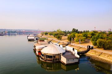 Belgrade rafts