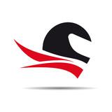 Logo motorcycle rider # Vector