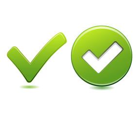 Green Check Button