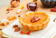Rustic pumpkin tart