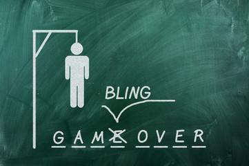 Gambling over