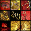 2013, collage Asie zen