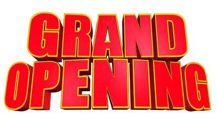 Grand opening gold edge