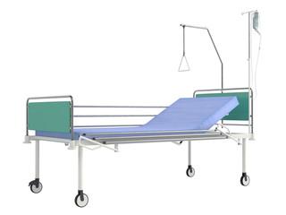 Mobile hospital bed