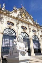 Belvedere in Vienna, Austria