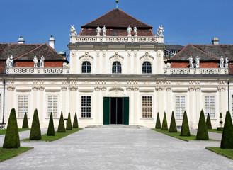 the Lower Belvedere, Vienna, Austria