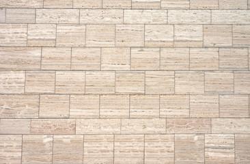 Brown granite wall