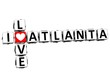 3D I Love Atlanta Crossword