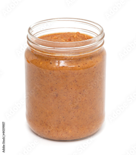 jar with peanut butter