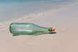 Message in a Bottle on Shore