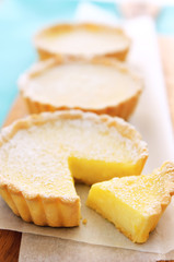 Yummy lemon tarts