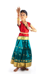 indian kid performing dance