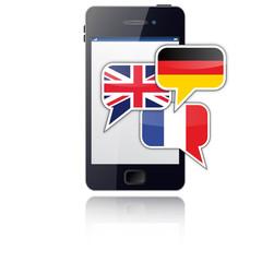 Smartphone als Übersetzer