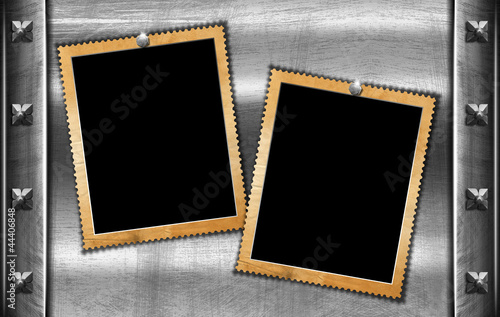 Two Grunge Photo Frames